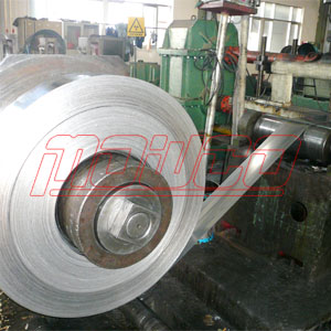 Stainless steel banding rolling